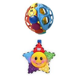 Baby Einstein Bendy Ball and Star Bright Symphony Toy Bundle