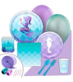 BirthdayExpress Mermaids Under The Sea Value Party Pack Bund
