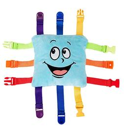 "BUCKLE TOY ""Bubbles Toddler Early Learning Basic Life Skills"