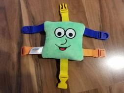 "BUCKLE TOY ""Buster"" Toddler Early Learning Basic Life Skills"
