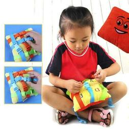 BUCKLE TOY Toddler Early Learning Basic Life Skills Children