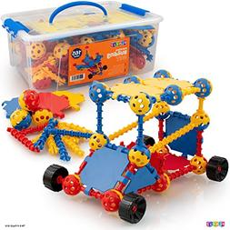 Play22 Building Toys For Kids 165 Set - STEM Educational Con