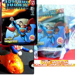 Burger King Justice League 6 toy 2003 Superman w mini DC Com