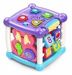 VTech Busy Learners Activity Cube Purple ONLINE EXCLUSIVE Ba