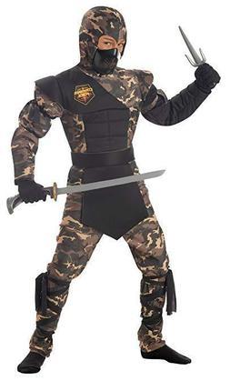 California Costumes Toys Special Ops Ninja, Medium Plus