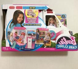 Barbie Care Clinic Ambulance Toy