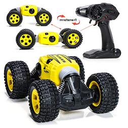 EXERCISE N PLAY Carfire Remote Control Car, 1:16 RC Monster