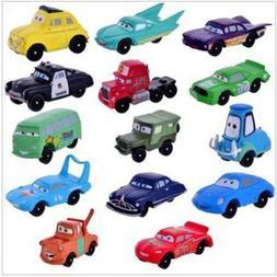 Disney CARS Lightning McQueen Playset 14 Figure Cake Topper