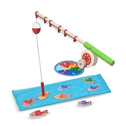 Melissa & Doug Catch & Count Wooden Fishing Game, Developmen