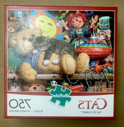 Buffalo Games - Cats Collection - Toy Cabinet - 750 Piece Ji