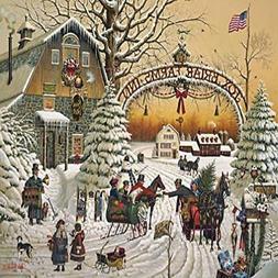 Buffalo Games Charles Wysocki A Christmas Greeting 1000 Piec