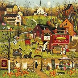 Buffalo Games Charles Wysocki - Blackbirds Roost At Mill Cre