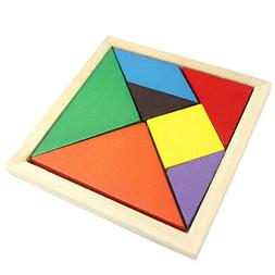 Children Baby Educational Wood Puzzle Shape Classification E