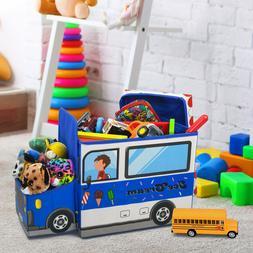 Children's toy storage box,Light up LED Toy Box,