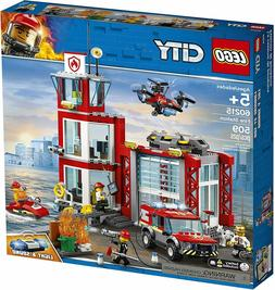 Lego City 60215 - Fire Station NEW - FREE SHIPPING