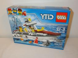 LEGO City-Fishing Boat-60147-New In Box-144 PCS-Ages 5-12-Ci