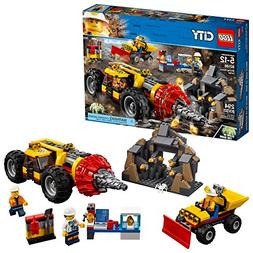 LEGO City Mining Heavy Driller 60186 Building Kit