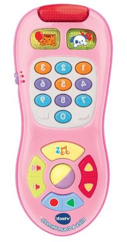 VTech Click & Count Remote Pink