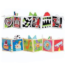 Kolamom Clip-On Baby Pram Carriage Crib Stroller Cloth Books