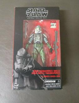 "Clone Commander Gree STAR WARS 2017 Black Series MIB 6"" Scal"