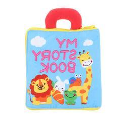 Cloth Book Basic Life Skills Baby Toddler Developmental Lear