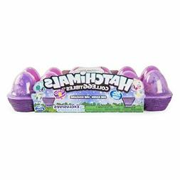 Hatchimals CollEGGtibles,  12 Pack Easter Egg Carton with Ex
