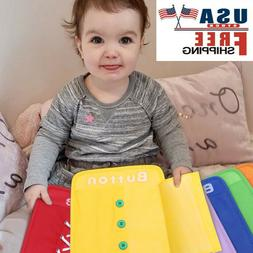 Colorful Baby Early Learning Kits Basic Life Skills Toys Lea