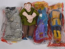 Complete Set of  Burger King HUNCHBACK of NOTRE DAME Toys  P