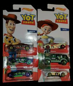 Complete TOY STORY 4 Set of 6 Sealed Hot Wheels Disney Pixar