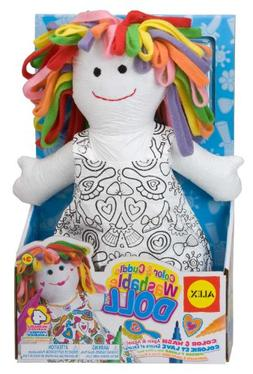 Alex Color And Cuddle Washable Doll - Polyethylene