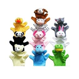 Cute Animal Hand Puppets Toys Set for Kids Children, Set of