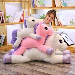Cute Soft Giant Plush Jumbo Unicorn Toy Stuffed Animal Horse