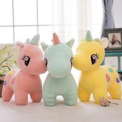 cute unicorn plush fluffy stuffed animal lovely