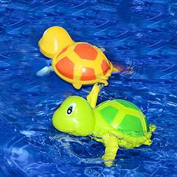 Cute Wind Up Swimming Turtle Tortoise Bath Toy for Boys Girl
