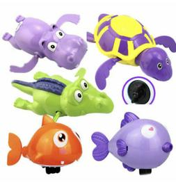 Cute Wind-up Swimming Turtle Tortoise Pool Toys For Baby Kid
