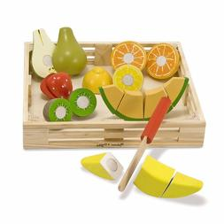 4 Pack MELISSA & DOUG CUTTING FRUIT CRATE
