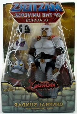 *DAMAGED PACKAGE* Masters of the Universe Classics GENERAL S