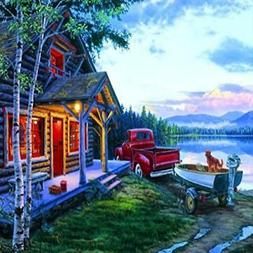 Buffalo Games Darrell Bush: Cabin Fever - 1000 Piece Jigsaw