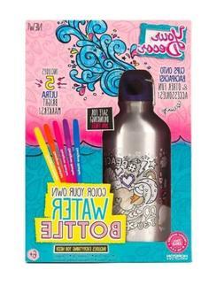 Your Decor Kids Art Water Bottle Kit Portable Decorate & Col