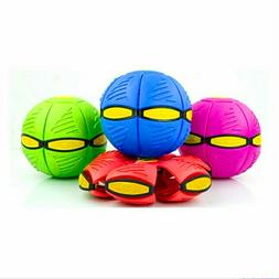 Deformable Flying Saucer Ball Magic Transform Frisbee UFO Ou