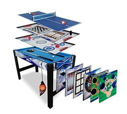 YUYUGO Desktop 2 in 1 Soccer and Knock Hockey Table Top Game