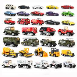 Diecast Cars Vehicles Play Set Toy Car Children's Model Allo