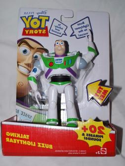 "Disney Pixar 6"" inch Toy Story Talking Buzz Lightyear Doll F"