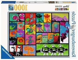 Ravensburger Disney Pixar Jigsaw Puzzle Pop Art 1000 Piece T