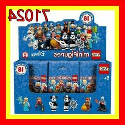 LEGO Disney Series 2 Minifigures Sealed Box Case of 60 Minif