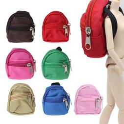 Doll Backpack Bag Accessories Mini Barbie Toys BJD Cute Chil