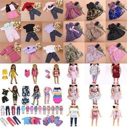 Doll Clothes Underwear Pants Shoes Dress Accessories for 18i