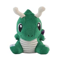 Wanna2017 Dragonite Plush Doll Stuffed Soft Toy Green 6 inch