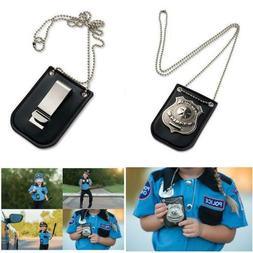 Dress Up Pretend Play America Police Special Badge With Chai