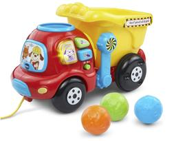 New VTech Drop And Go Dump Truck Kids Toddlers Learning Toy